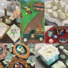 Collage of Cookie Entries: Photos by Julia M Usher; Cookies by Unknown Entrants