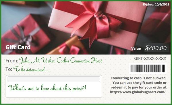 Gift CardBorder - Challenge #31
