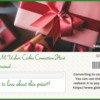 Gift Card Prize: Gift Donated by Julia M Usher; Gift Card Image Courtesy of Global Sugar Art