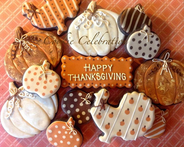 #9 - Happy Thanksgiving by Cookie Celebration LLC
