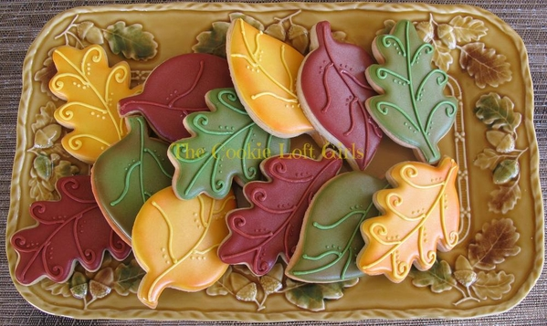 #10 - Fall Leaves! by TriciaZ@Tricia's Cookie Cottage