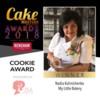 2018 Cookie Winner - My Little Bakery: Photo Courtesy of Cake Masters Magazine