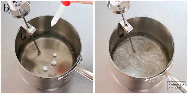 3b add white to sugar mixture