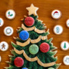 Advent Calendar-Style Cookie Platter - Where We're Headed!: Cookies and Photo by Aproned Artist