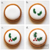 Steps 3a to 3d - Example Wet-on-wet Illustration: Cookie and Photos by Aproned Artist