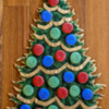 Step 7b - Assemble Christmas Tree Platter: Cookies and Photo by Aproned Artist