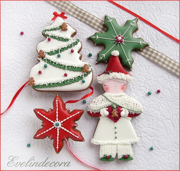 #2 - Christmas Cookies by Evelindecora