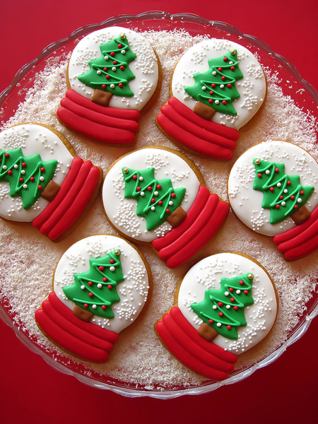 #5 - Snow Globe Cookies by Gingerland