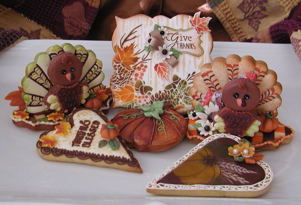#10 - Thanksgiving . . . A Little Late by Cookies Fantastique by Carol