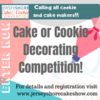 Cookie Competition Banner: Graphic Courtesy of Jersey Shore Cake & Cookie Convention