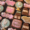 More Cookies with Lettering: Cookies and Photo by Andrea Walters