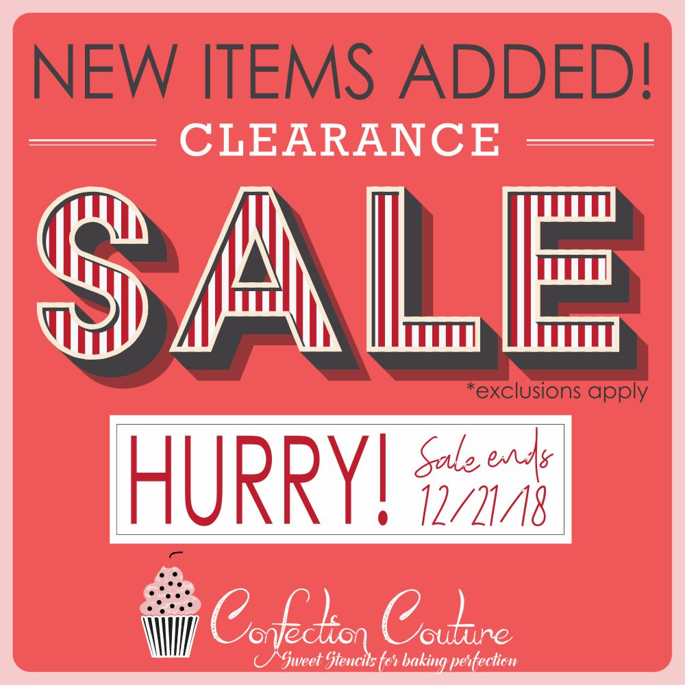 79fc886c4a92bf Huge Cookie Stencil Clearance Sale Continues - New Items Just Added ...