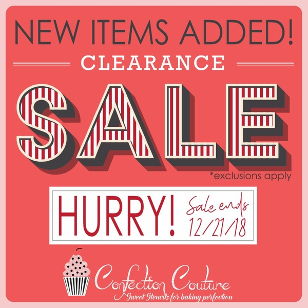 Julia's Stencil Clearance Sale