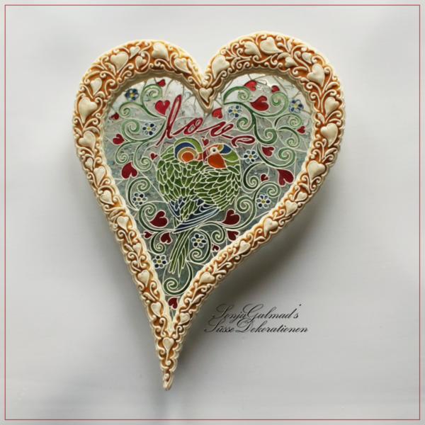 #2 - Lovebird Suncatcher by swissophie