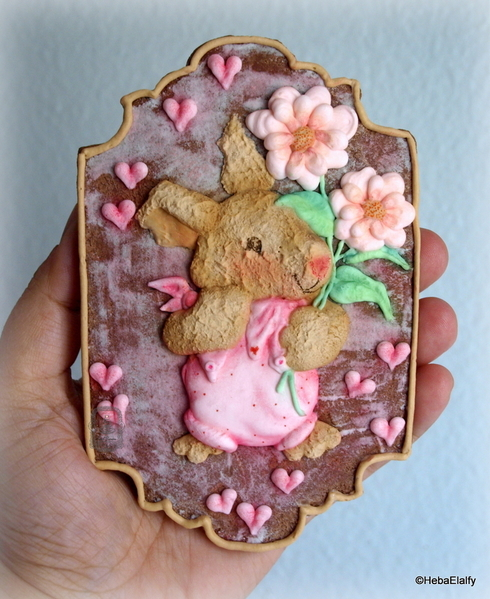 #9 - Mother's Day Bunny by Heba Elalfy