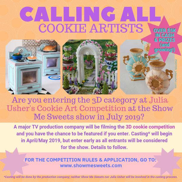 NOW CASTING Cookie Art Competition 2019-1 REV