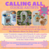 3-D Cookie Art Competition - Another Casting Call Poster!: Graphic Courtesy of Julia's Production Company