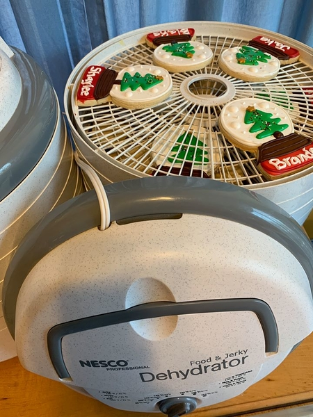 nesco dehdryator to dry royal icing