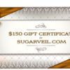 SugarVeil Gift Card: Prize Courtesy of SugarVeil; Graphic Design by Julia M Usher Using Free Clip Art