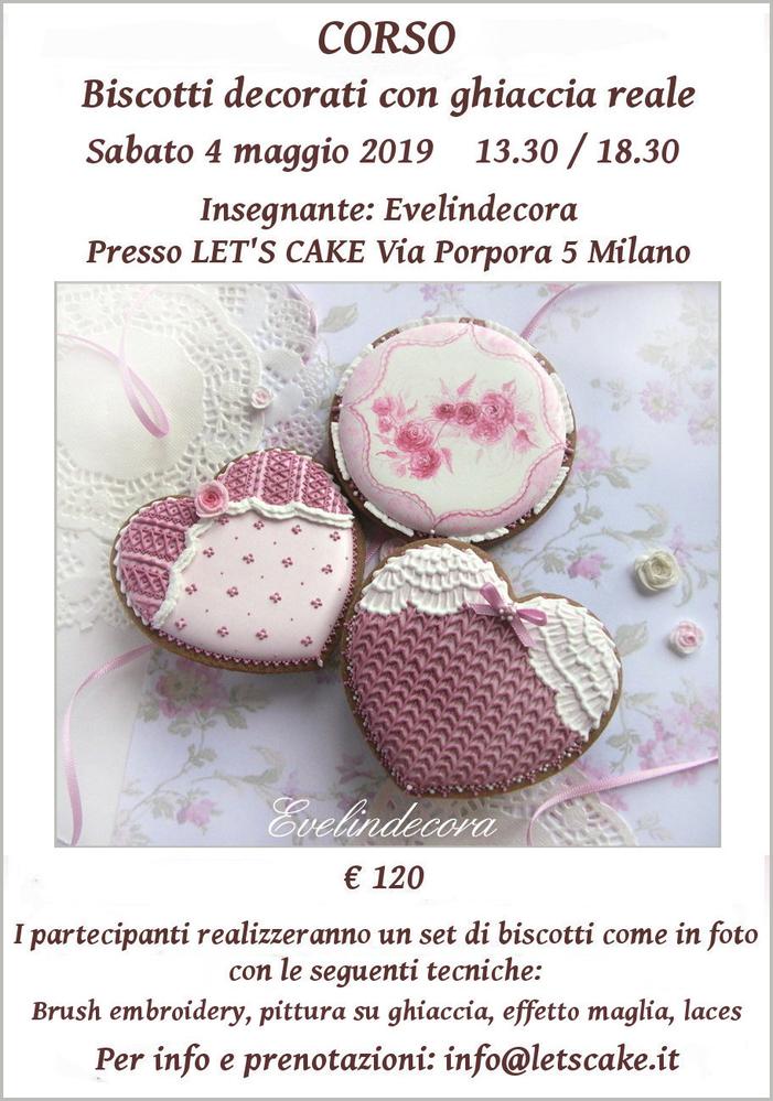 Corso Biscotti Decorati with Evelindecora (Hearts)