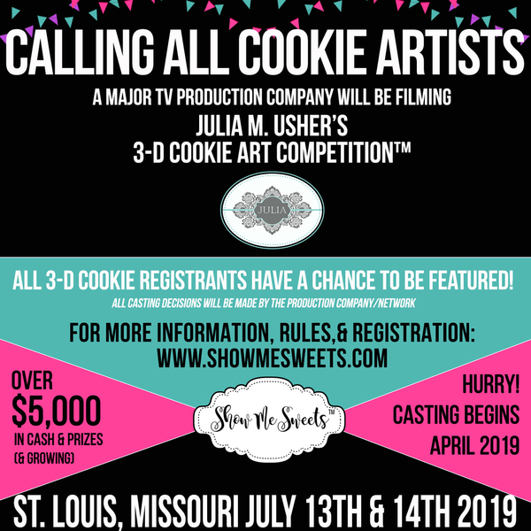 3-D Cookie Art Casting Call-2