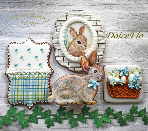 #1 - Easter Bunny Home by Dolce Flo