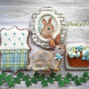 #1 - Easter Bunny Home: By Dolce Flo