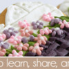 April 2019 Site Banner: Cookies and Photo by PUDING FARM; Graphic Design by Pretty Sweet Designs