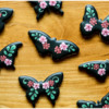 Final Blooming Butterfly Set: Cookies and Photo by Aproned Artist