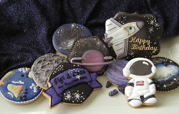 #4 - Out of this World Birthday Celebration! by Cookies Fantastique by Carol