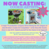Casting Call Poster for Julia M Usher's 3-D Cookie Art Competition™: Poster by Julia's Production Company