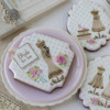 Another Style with Different Message and Frame: Cookies and Photo by Julia M Usher; Stencils Designed by Julia M Usher with Confection Couture Stencils