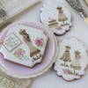 Julia's April Dynamic Duos™ Sets - On Actual Cookies!: Cookies and Photo by Julia M Usher; Stencils Designed by Julia M Usher with Confection Couture Stencils