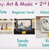 Art & Music Category - Second Place: Slide Courtesy of CookieCon; Cookies by Indicated Artists