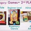 Games Category - Second Place: Slide Courtesy of CookieCon; Cookies by Indicated Artists