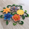 Quilled Flowers: By swissophie