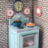 3-D Retro Oven Cookie: By Julia M. Usher