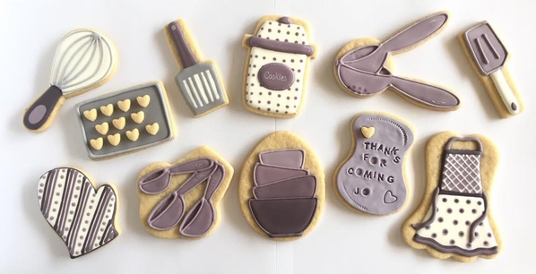 #6 - Jo's Bridal Shower Cookies (or Mother's Day) by DORYS