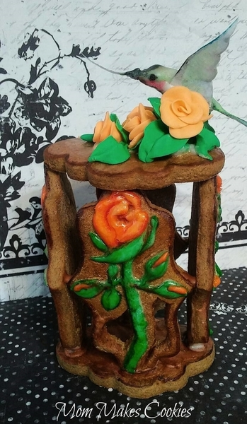 #9 - Hummingbird in a Rose Garden-Box by Kim Damon