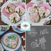 Julia's March 2019 Stencil Release: Cookies and Photos by Julia M Usher; Stencils Designed by Julia M Usher in Partnership with Confection Couture Stencils