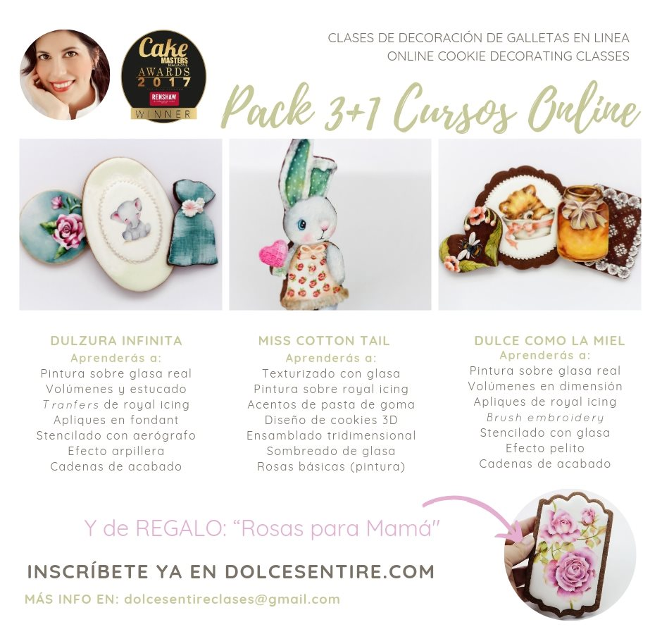 Dolce Sentire Online Cookie Decorating Classes Cookie