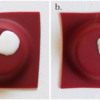 Steps 3a and 3b - Pipe Egg Royal Icing Transfer: Photos by Aproned Artist