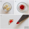 Steps 6d, 6e, and 6f - Make and Apply Jelly to Toast: Photos by Aproned Artist