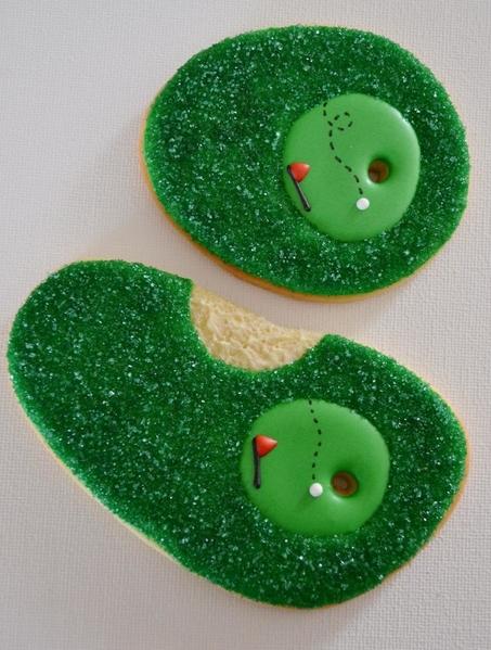 #7 - Golf Cookies by Former Member