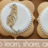 June 2019 Site Banner: Cookies and Photo by Barbara Smith; Graphic Design by Pretty Sweet Designs