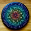 Rainbow Mandala: Cookie and Photo by Samantha Yacovetta