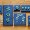 Malachite Jewelry Cookies: Cookies and Photo by Samantha Yacovetta