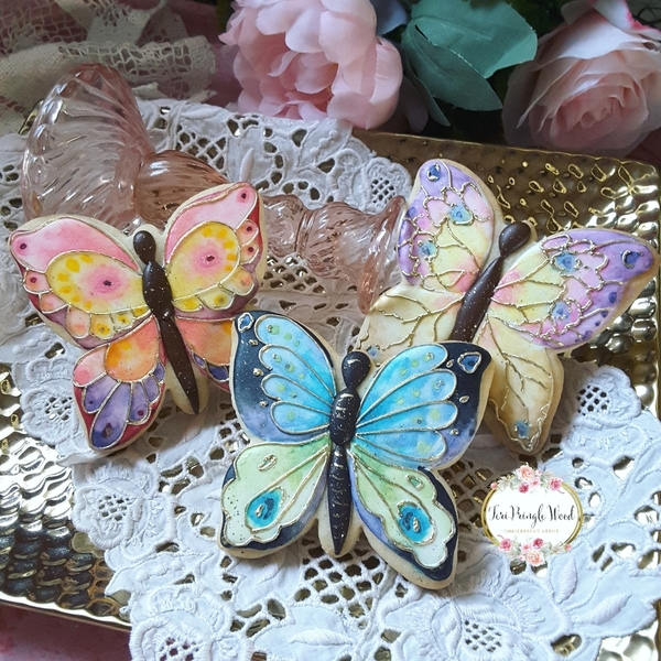 #4 - Butterflies by Teri Pringle Wood
