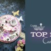 Top 10 Cookies Banner: Cookie and Photo by Di Art Sweets; Graphic Design by Julia M Usher