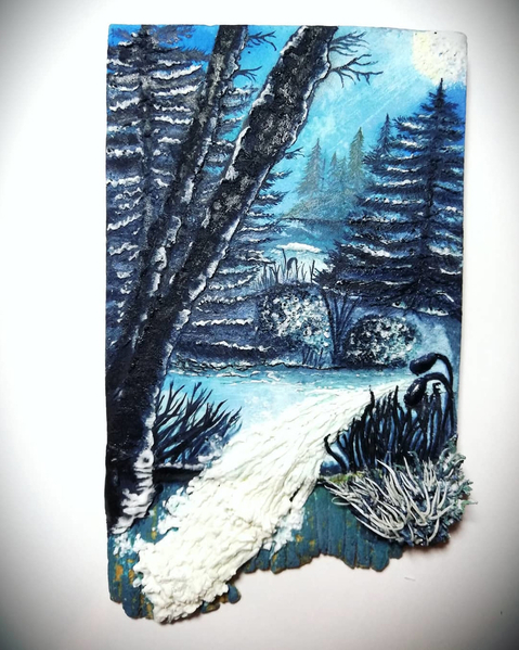 #1 - Icy Woods by Cookies by joss
